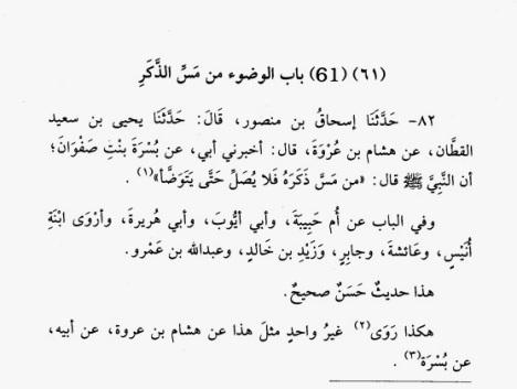 Sunan Tirmidzi no 82